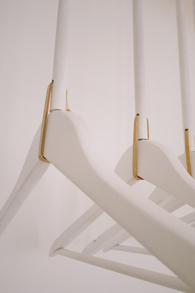 DIY Garderobe aus Holz selber bauen