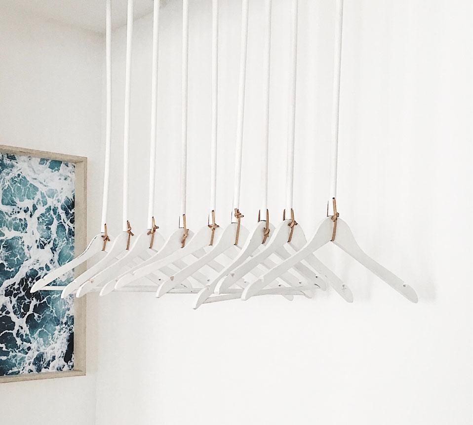 Monoista DIY Blog DIY Garderobe aus Holz und Leder 1 - DIY Garderobe aus Holz selber bauen