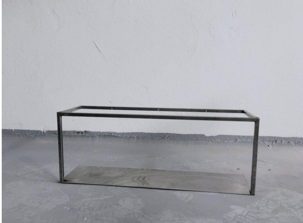 Monoista Regal aus Stahl Kueche unlackiert 1024x754 - DIY Regal aus Stahl schweißen für die Küche