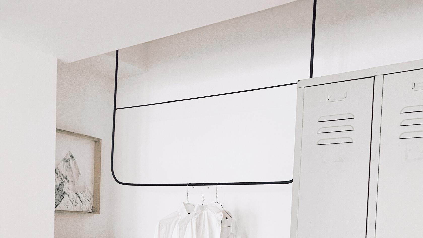 Monoista Blog DIY Garderobe aus Metall 2 - Blog