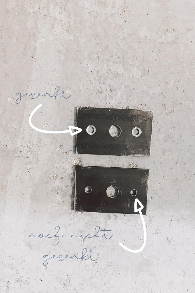 Monoista DIY garderobe aus Metall Ankerplatten 683x1024 - DIY Garderobe aus Metall