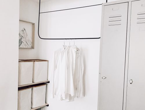 Monoista Blog DIY Garderobe aus Metall 500x380 - Picomig 180 Puls Erfahrungsbericht