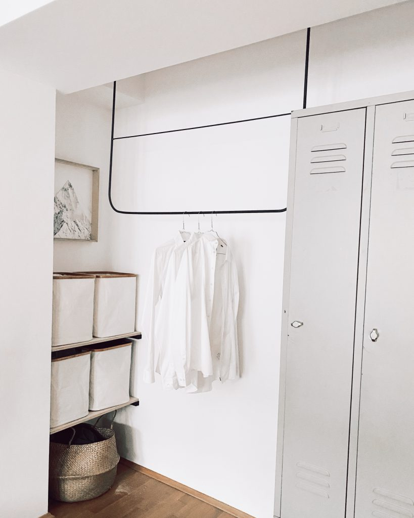 Monoista Blog DIY Garderobe aus Metall 819x1024 - DIY Garderobe aus Metall