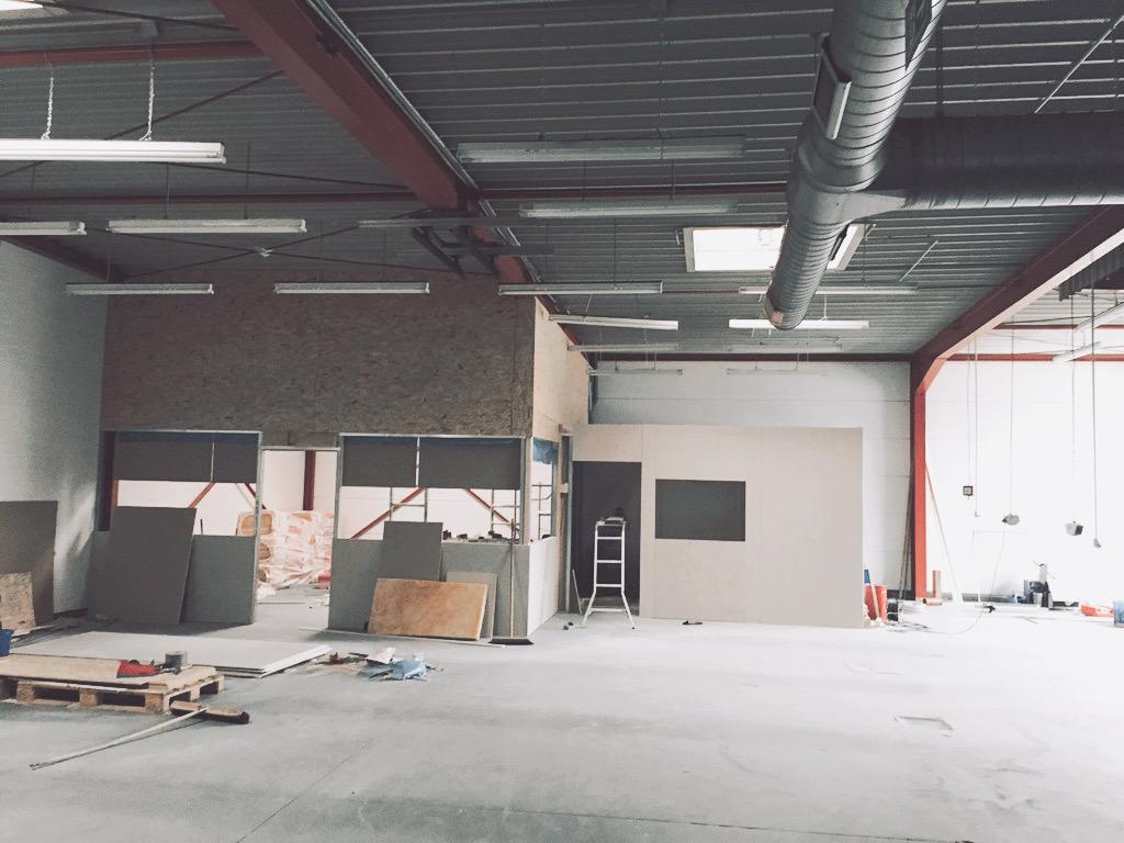 Monoista eine eigene Werkstatt 12 - Endlich eine eigene Werkstatt