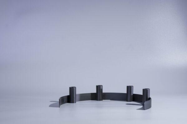 DSC02310 scaled - Kerzenständer RADO in schwarz