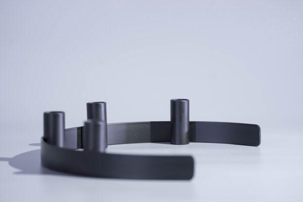 DSC02315 scaled - Kerzenständer RADO in schwarz