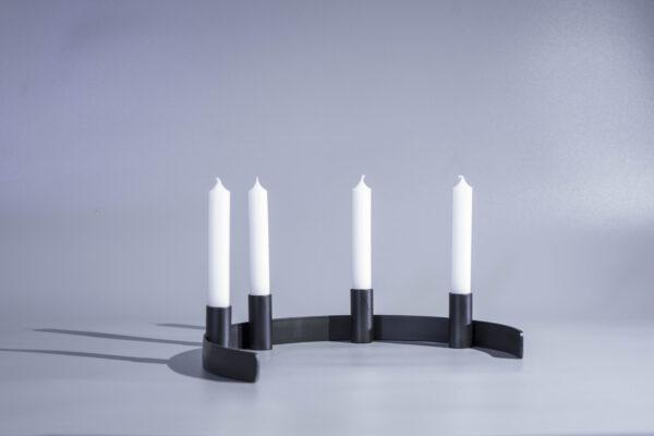 DSC02318 scaled - Kerzenständer RADO in schwarz