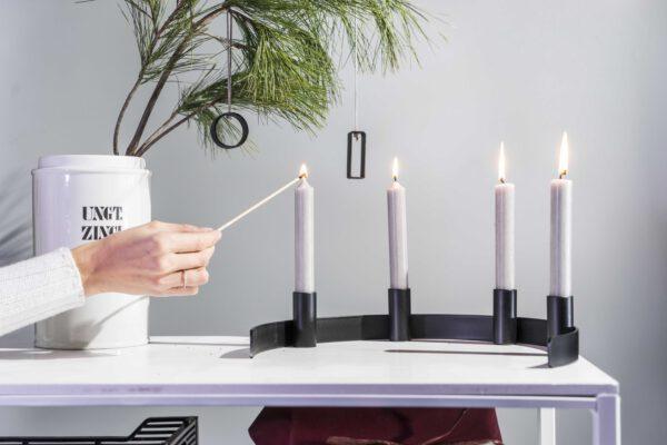 DSC02396 scaled - Kerzenständer RADO in schwarz