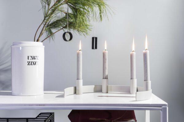 DSC02430 scaled - Kerzenständer RADO in grau
