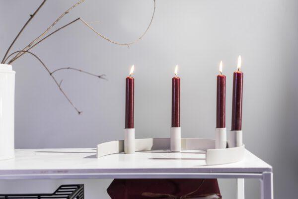 DSC02460 scaled - Kerzenständer RADO in grau