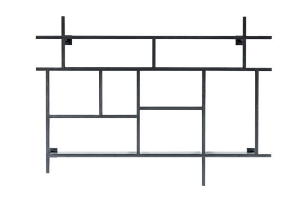 180057 Studio Agrippa Fotografie Referenz 6 Kopie 2 1 600x400 - KOBO minimalistisches Metallregal schwarz matt
