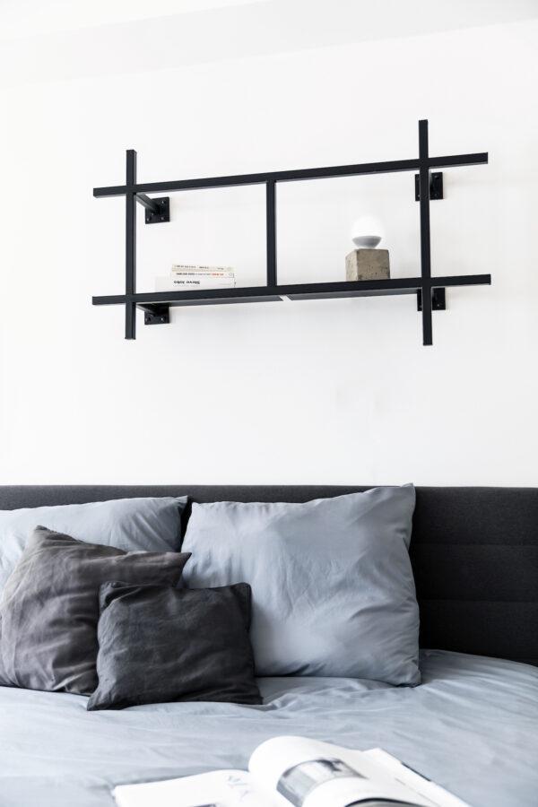KOBO_minimalistisches_Metallregal_schwarz_klein